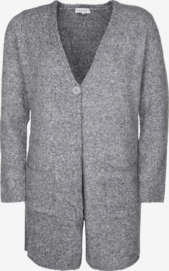Zhenzi Gebreid vest 'BILBOE' in de kleur Grijs, Productweergave