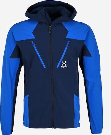 Haglöfs Outdoorjacke 'Tegus' in Blau