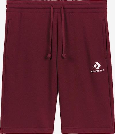 CONVERSE Shorts ' Star Chevron EMB ' in bordeaux, Produktansicht