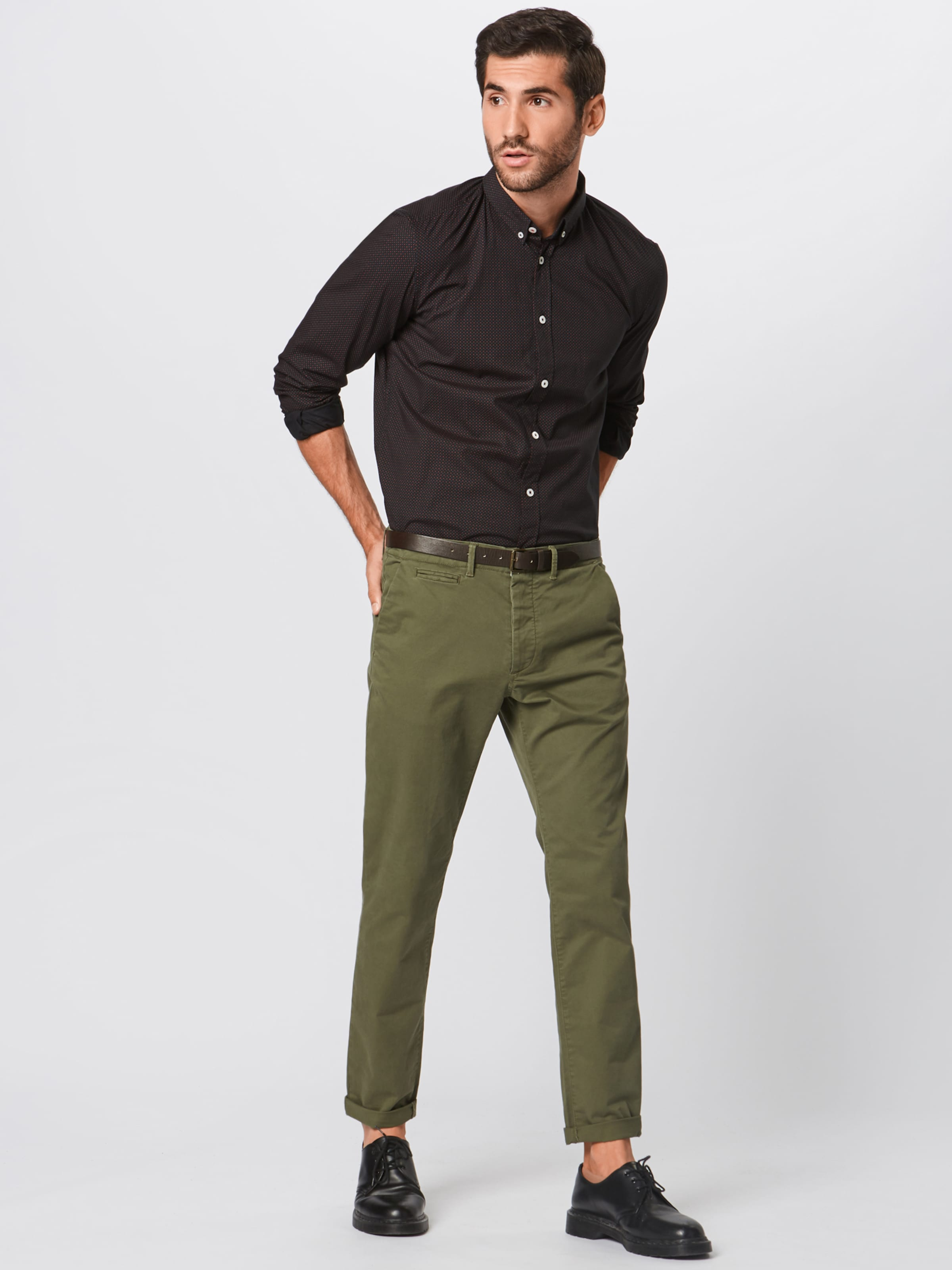 En RougeNoir Chemise Tom Tom Tailor Tailor iXZPuk