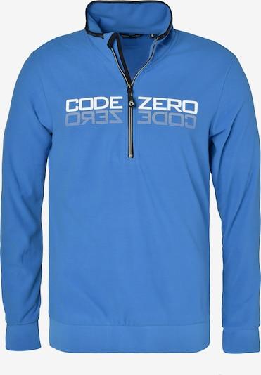 CODE-ZERO Sporttrui 'Windward' in de kleur Royal blue/koningsblauw / Wit, Productweergave