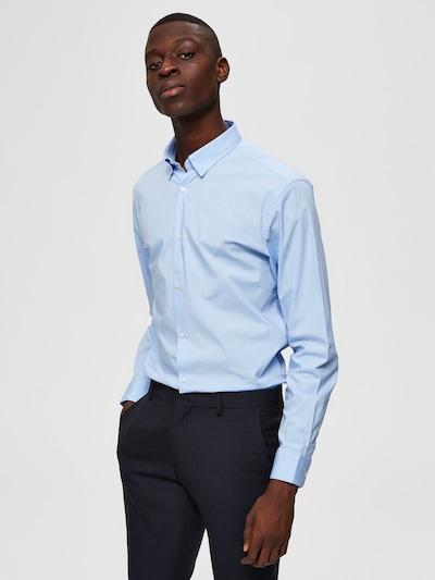 SELECTED HOMME Overhemd in de kleur Lichtblauw: Vooraanzicht