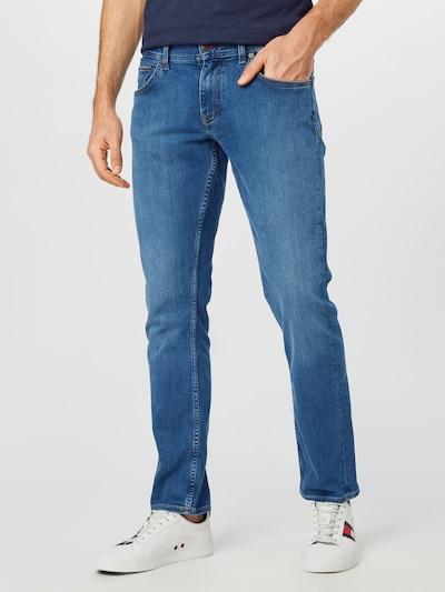 TOMMY HILFIGER Jeans 'STRAIGHT DENTON STR ALVIN BLUE' in blue denim, Modelansicht