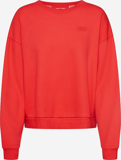 LEVI'S Sweatshirt 'DIANA CREW' in rot, Produktansicht