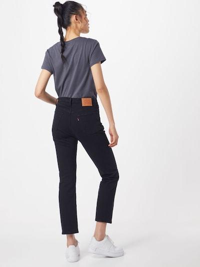 LEVI'S Jeansy '501® CROP' w kolorze czarnym: Widok od tyłu