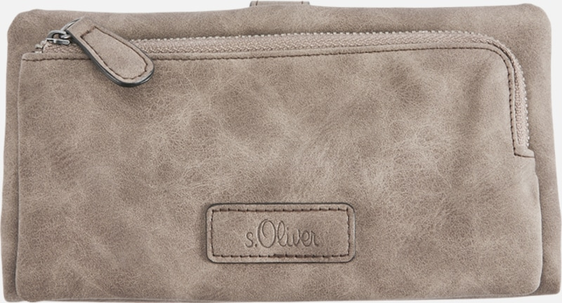 s.Oliver RED LABEL Portemonnaie mit Lasercut-Muster