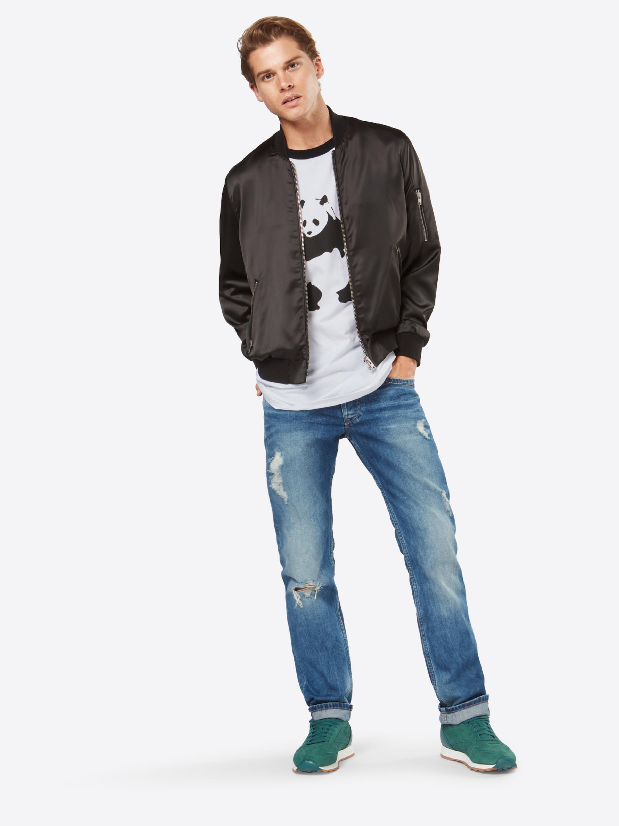 Tee 'banksy shirt T Panda' En NoirBlanc Mister rdCBoex