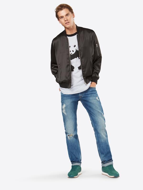 Merchcode T-Shirt 'Banksy Panda Raglan Tee'