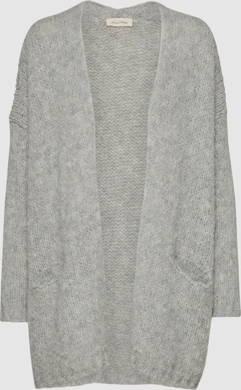 AMERICAN VINTAGE Grobstrickjacke 'BOOLDER' in grau  Bequem Bequem Bequem und günstig d0c817