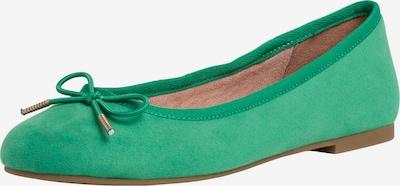 TAMARIS Ballerina in grün, Produktansicht
