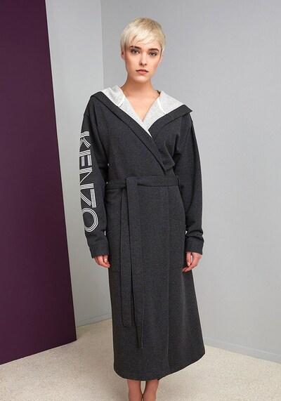 Kenzo Maison Bademantel 'KLOGO' in grau / dunkelgrau, Produktansicht