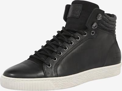 BULLBOXER Sneakers hoog in de kleur Zwart / Wit, Productweergave