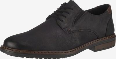 Batai su raišteliais iš RIEKER , spalva - ruda / juoda, Prekių apžvalga