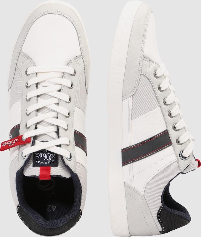 s.Oliver RED LABEL Sneaker mit strukturierter Oberfläche