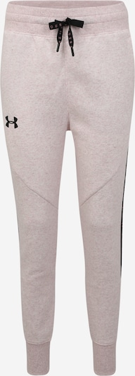 UNDER ARMOUR Sportbroek 'FLEECE PANT TAPED' in de kleur Rosa, Productweergave