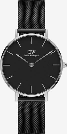Daniel Wellington Uhren in schwarz / silber, Produktansicht