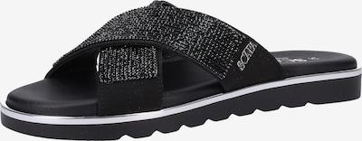 SCAPA Pantolette in schwarz, Produktansicht