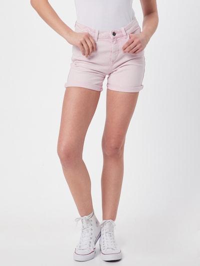 EDC BY ESPRIT Shorts 'F OCS HR' in puder, Modelansicht