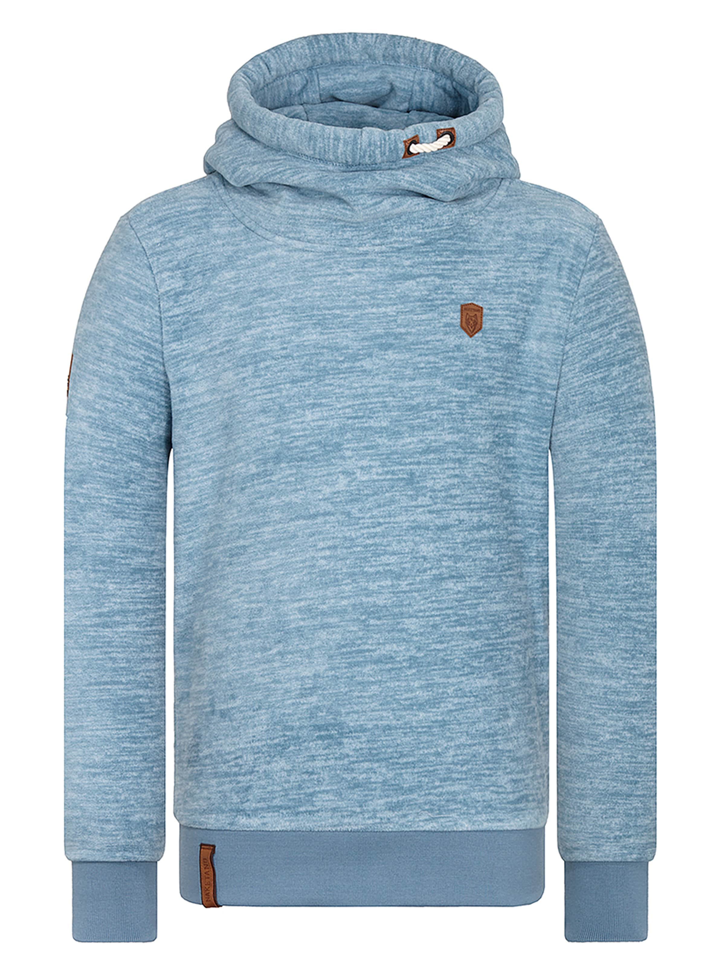 En Clair Bleu 'flash Ahaaaaaaaaa' Naketano Sweat shirt CxBoeWrd