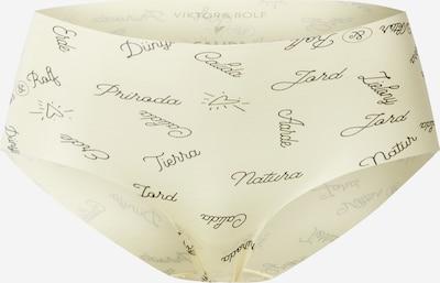 CALIDA Panty 'Viktor & Rolf' in zitrone / pastellgelb / schwarz, Produktansicht