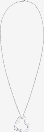 ELLI Halskette 'Herz' in silber, Produktansicht