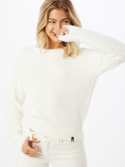 Noisy may Pullover 'JESS' in offwhite, Modelansicht