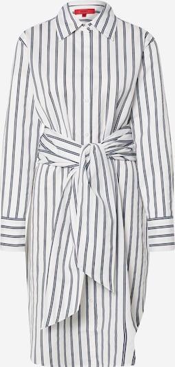 HUGO Blusenkleid 'Emaltea' in dunkelblau / weiß, Produktansicht