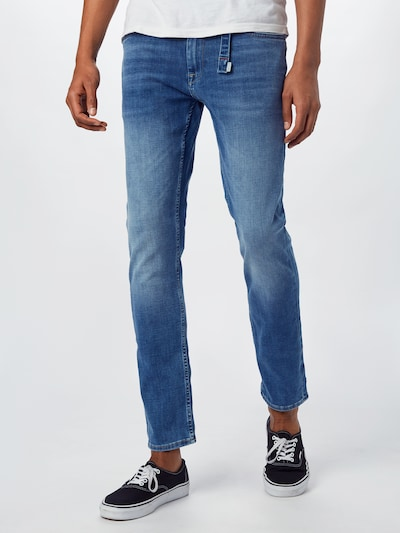 BLEND Jeans 'Jeans multiflex_pro - Noos' in blue denim, Modelansicht