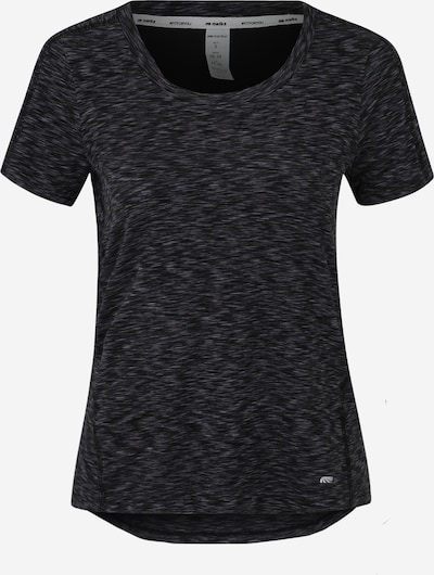 Marika Functioneel shirt 'SPACE DYE TEE' in de kleur Grijs / Zwart, Productweergave