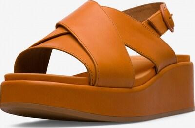 CAMPER Sandale 'Misia' in dunkelorange, Produktansicht