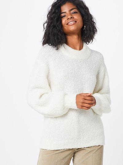 Designers Remix Pullover 'Gael' in weiß: Frontalansicht
