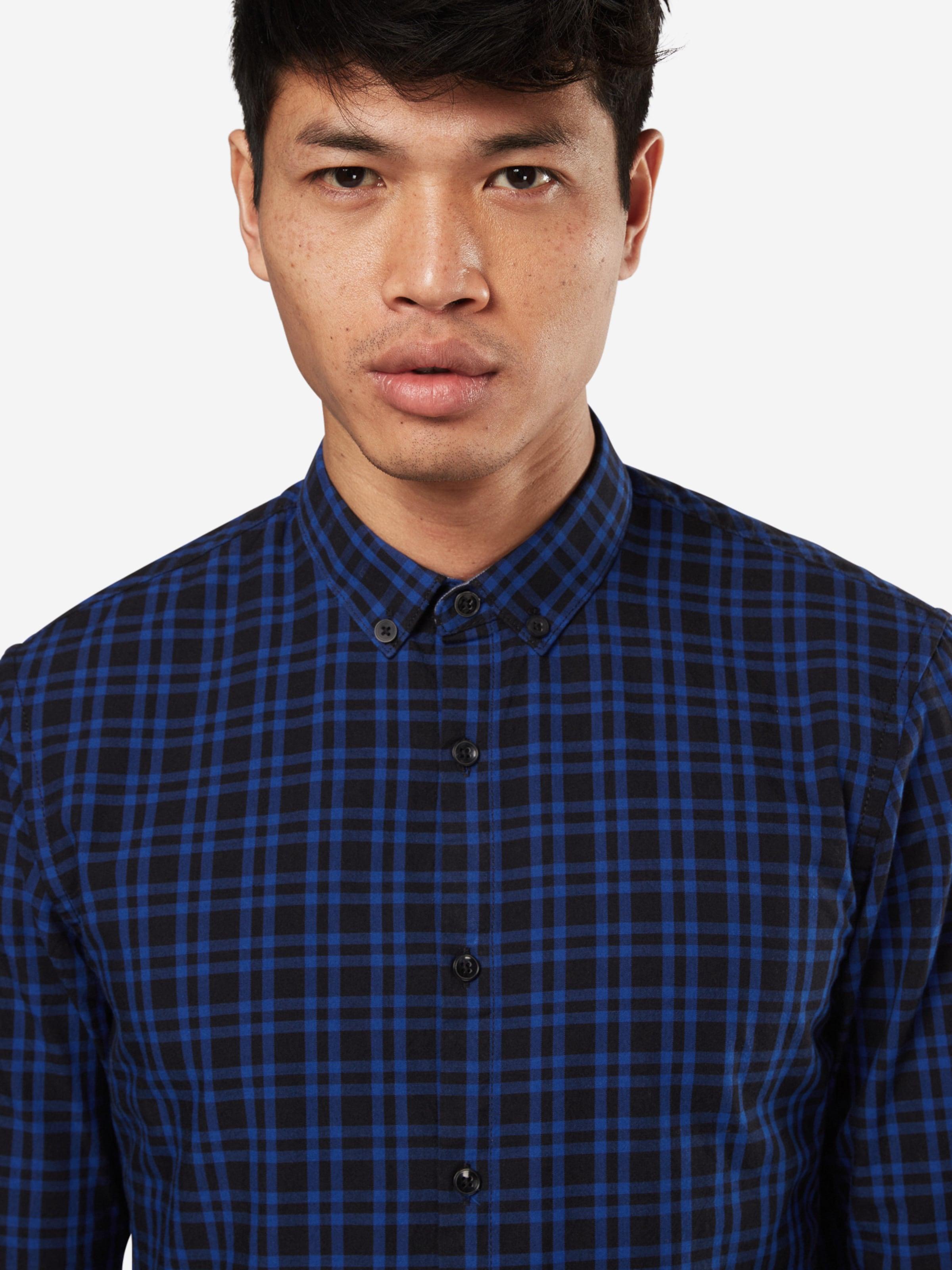 Rabatt Perfekt TOM TAILOR DENIM kariertes Slim-Hemd Neue Stile Billig Verkauf Verkauf Neueste Online Günstig Kauft Niedrigen Versand 51XMAmsoAa