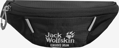 JACK WOLFSKIN Sporttas 'Cross Run' in de kleur Zwart, Productweergave