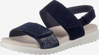 Legero Sandale in blau, Produktansicht