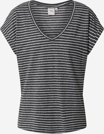 ICHI Shirt in schwarz / weiß, Produktansicht