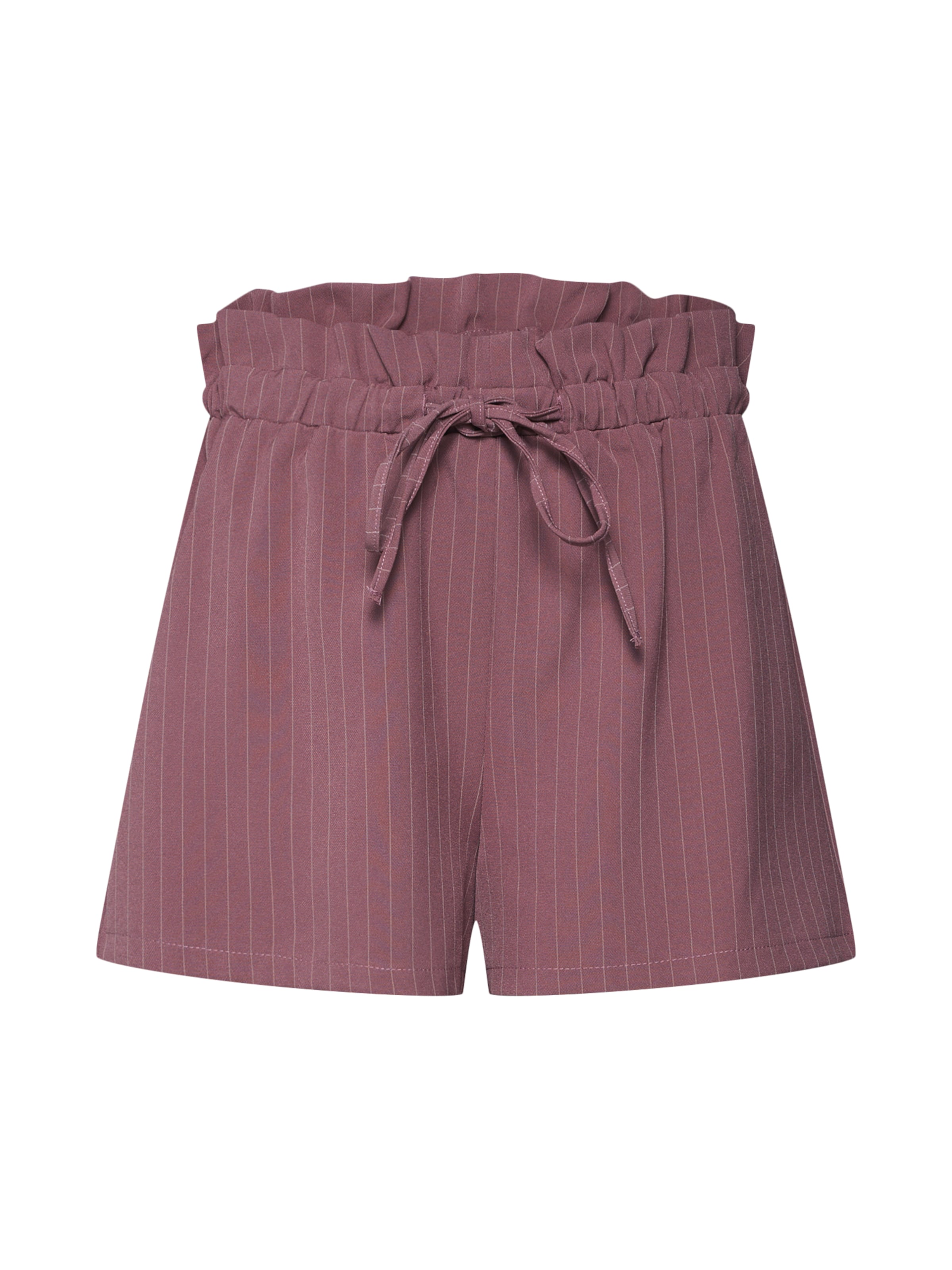 Pantalon Ancienne Gathered' En Rose 'pinstripe Missguided dCBxoe