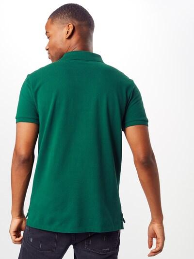 POLO RALPH LAUREN Shirt 'SSKCSLIM1-SHORTSLEEVE-KNIT' in de kleur Groen: Achteraanzicht