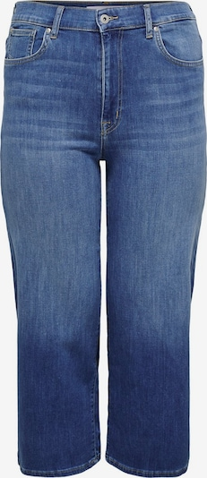ONLY Carmakoma Curvy Caradison HW Wide Cropped Cropped Jeans in blau, Produktansicht