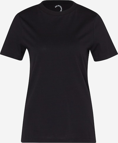 SELECTED FEMME T-Shirt 'MY PERFECT' in schwarz, Produktansicht