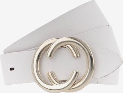 VANZETTI Gürtel in weiß, Produktansicht