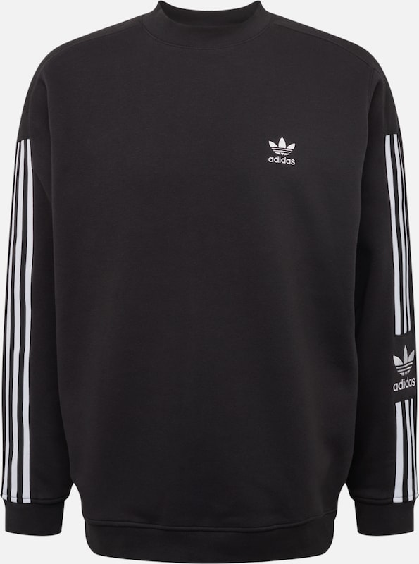 ADIDAS ORIGINALS Sweatshirt in schwarz weiß | ABOUT YOU