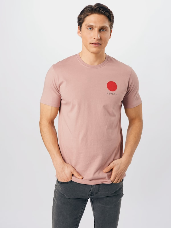 Edwin shirt japanese sun Wit-xl