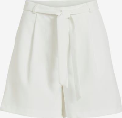 VILA Bandplooibroek in de kleur Wit, Productweergave