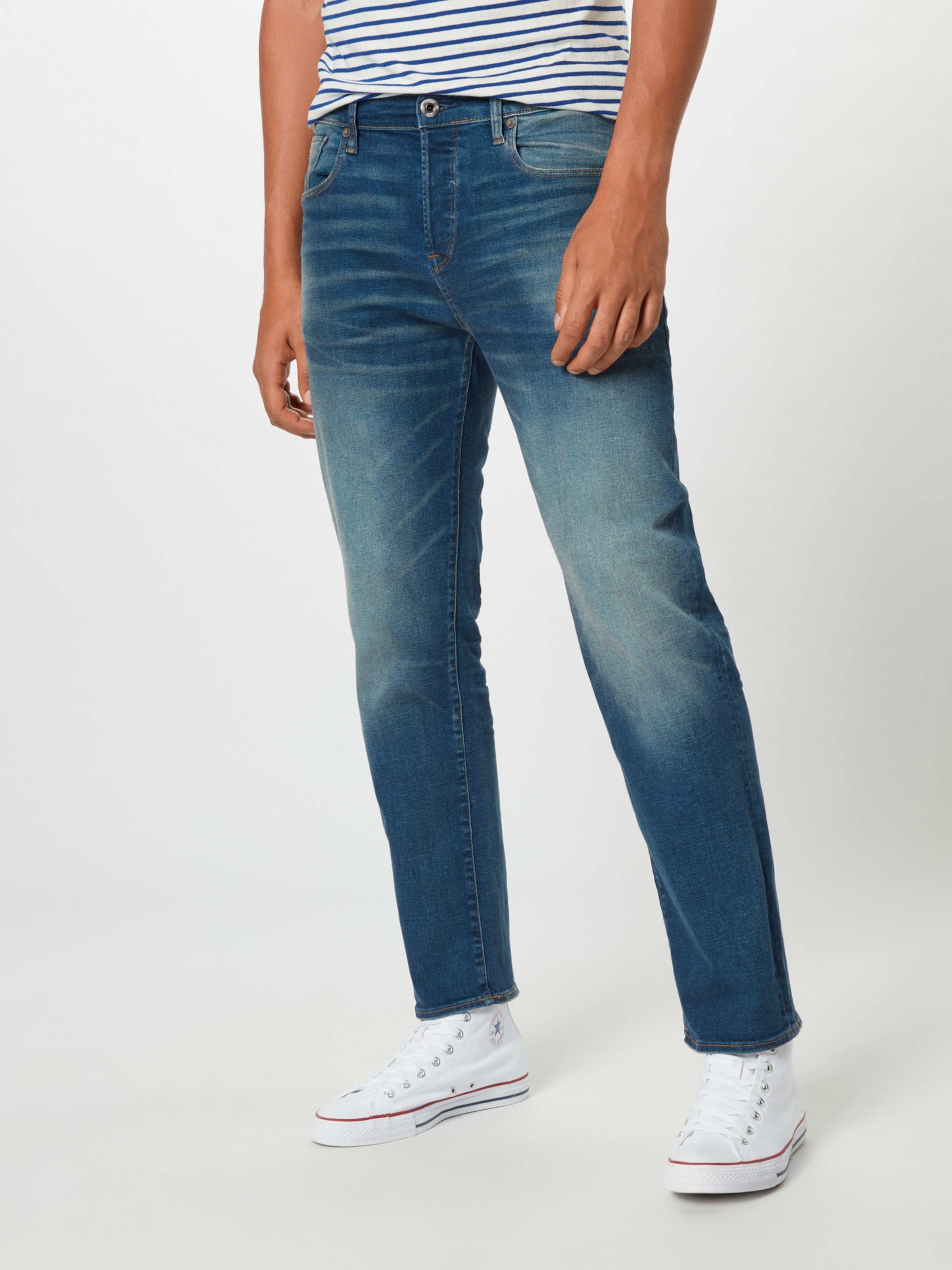 Jeans G Blue Denim '3301 Loose' star Raw In kwOn0P
