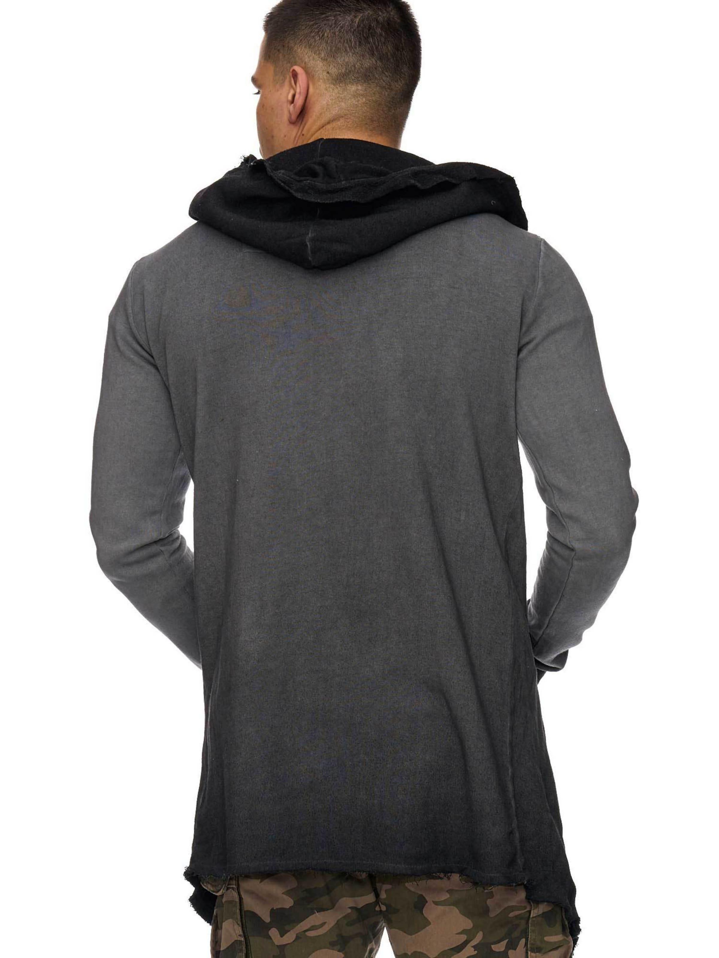 INDICODE JEANS Sweatjacke ' Oversize Sweatjacke ' 100% Original Manchester Große Online-Verkauf IMHS6SHi