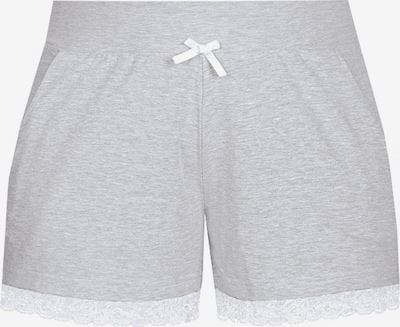 sassa Shorts 'Mix & Match' in grau / weiß, Produktansicht