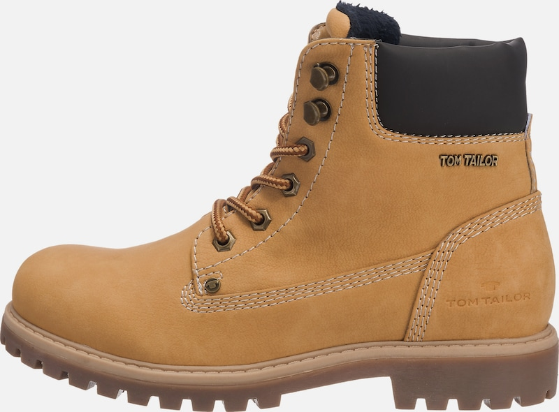 TOM TAILOR | Schnürboots im Worker-Look Schuhe Gut getragene Schuhe Schuhe getragene 270fe6