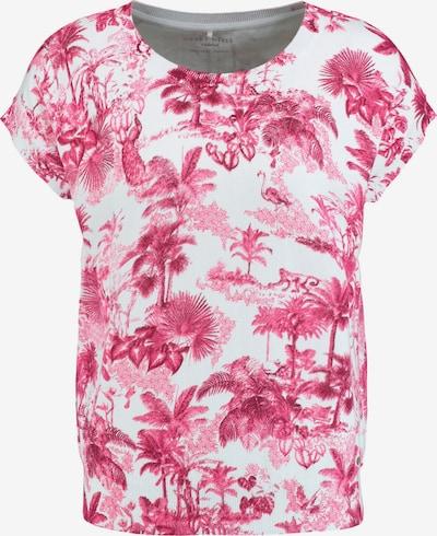 GERRY WEBER Pullover in pink / weiß, Produktansicht