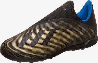 ADIDAS PERFORMANCE Fußballschuh 'X 19.3 II TF' in blau / gold / schwarz, Produktansicht