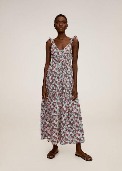 MANGO Kleid 'Goa' in mischfarben / rot, Modelansicht